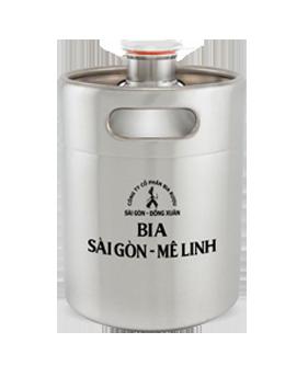 Bia Sài Gòn – Mê Linh Keg 2L