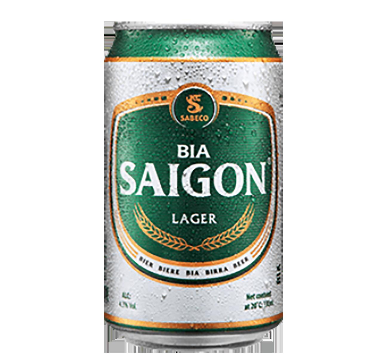 Bia lon Saigon Lager