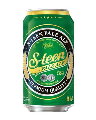 Bia lon S-teen 330ml