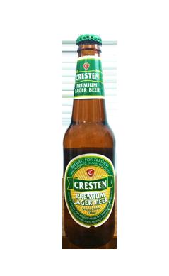 Bia chai Cresten